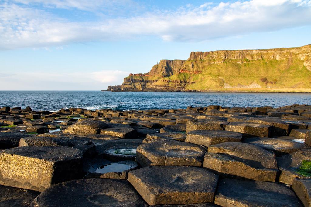 Reuzen aan de kust van Noord-Ierland