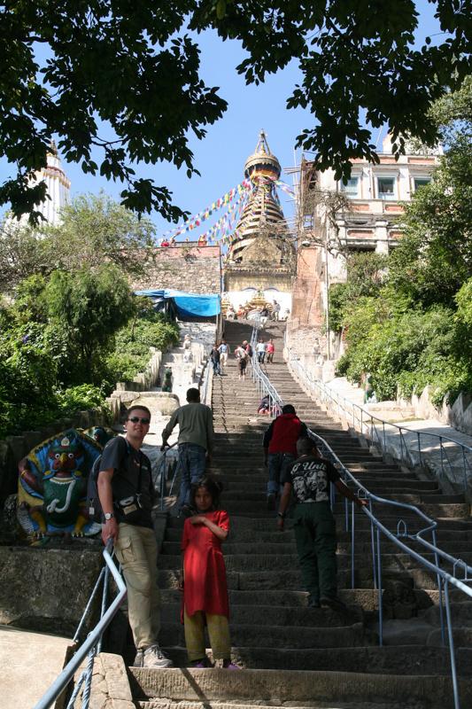 De Swayambhunath Stoepa