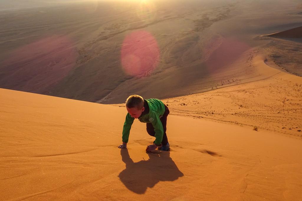 Ontbijten op Dune 45