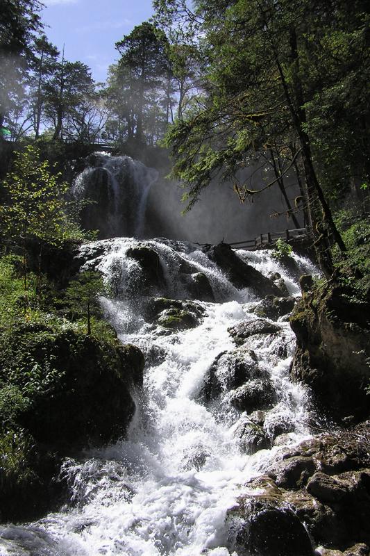 Meren en watervallen in Jiuzhaigou