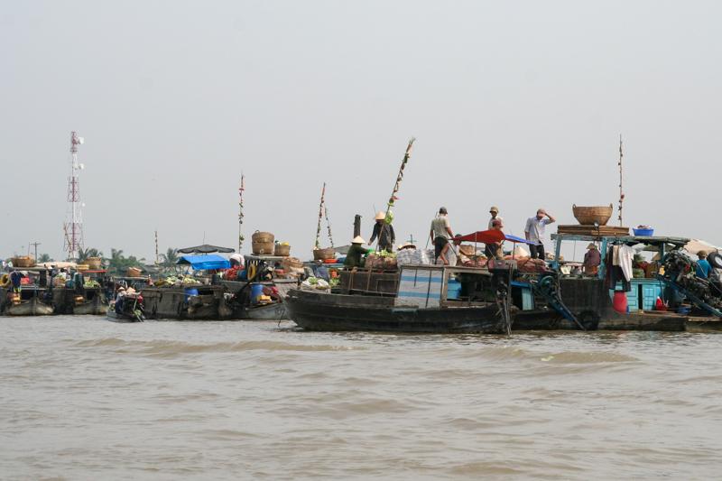 Varen in de Mekong Delta