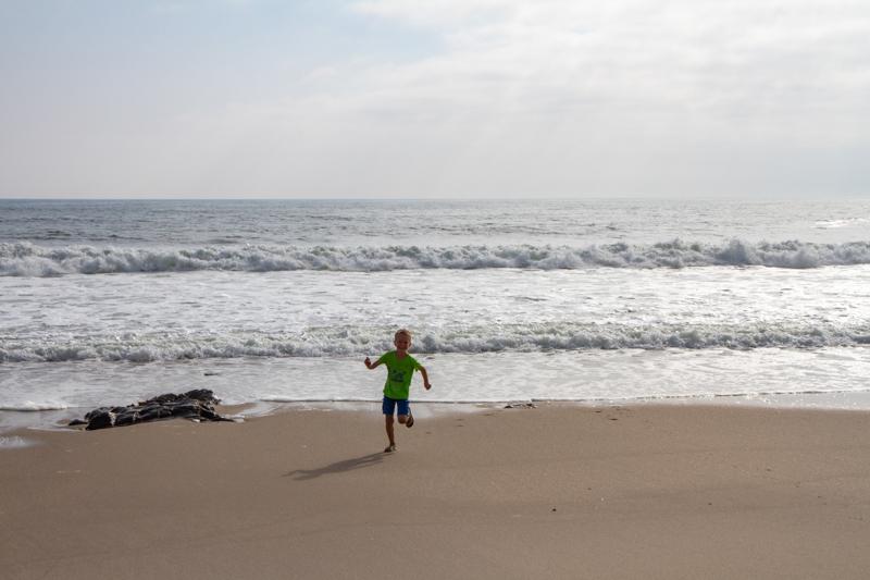 Rijden langs de verlaten Skeleton Coast