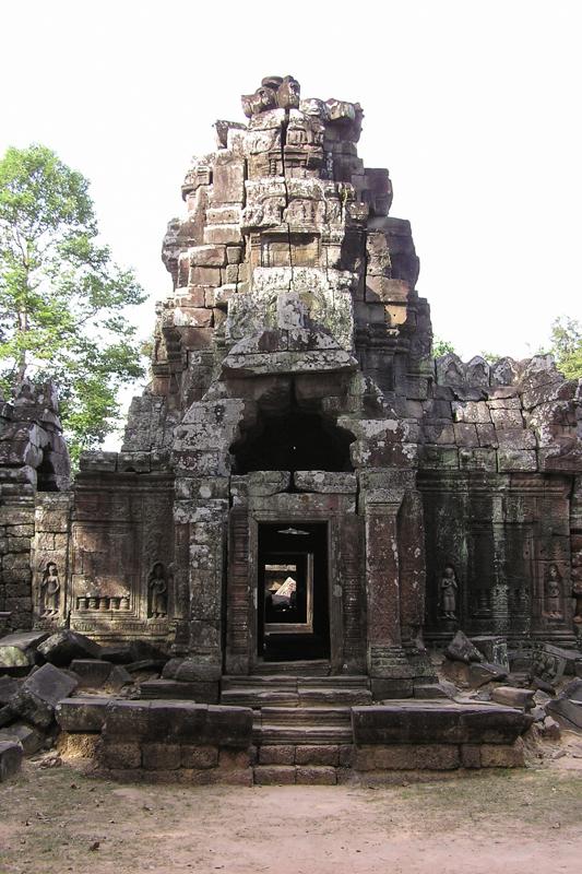 Op de fiets langs de tempels van Angkor