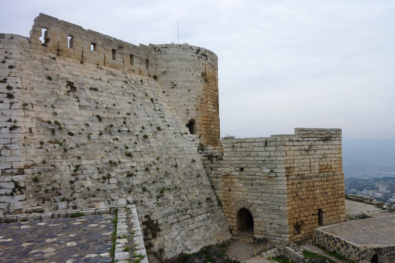 In de voetstappen van de kruisvaarders in Krak des Chevaliers