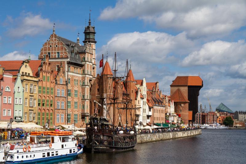 Terug in de tijd in Gdansk